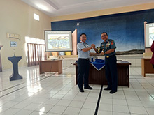 Mahasiswa FSP Unhan Laksanakan Study Visit ke Pangkalan Udara TNI AU Sam Ratulangi Manado