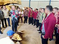 Mahasiswa FSP Unhan Study Visit ke PT IKI Bitung Sulawesi Utara