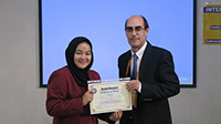 Mahasiswa S2 FSP Unhan Ikuti Acara International Conference on Social Science and Humanities (ICSSH) di Dubai, Uni Emirat Arab